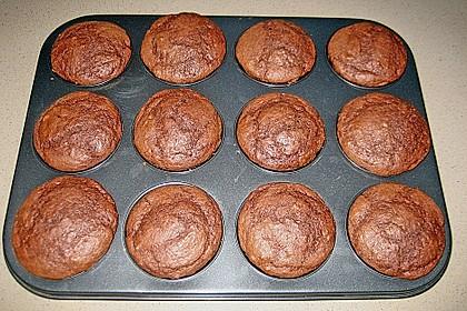 Schokoladen Muffins für Eilige 17