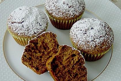 Schokoladen Muffins für Eilige 8