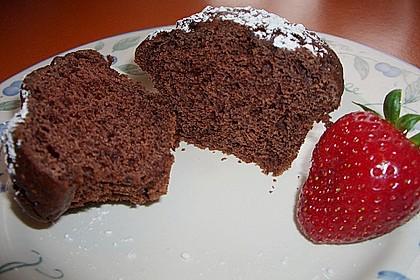 Schokoladen Muffins für Eilige 5