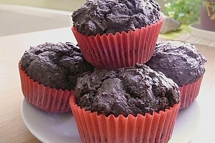 Schokoladen Muffins für Eilige 22