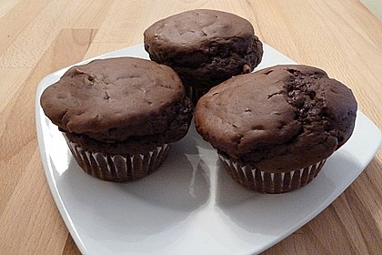 Schokoladen Muffins für Eilige 4
