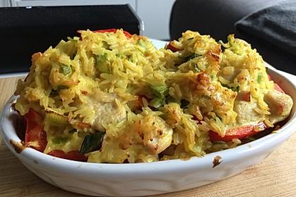 Paprika mit Geflügel - Curry - Füllung 34