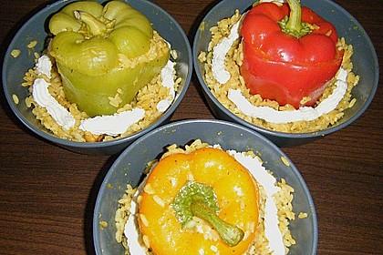 Paprika mit Geflügel - Curry - Füllung 32