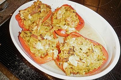 Paprika mit Geflügel - Curry - Füllung 19