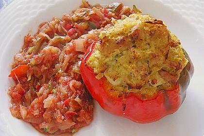 Paprika mit Geflügel - Curry - Füllung 14
