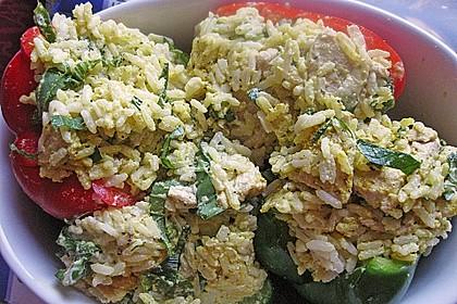 Paprika mit Geflügel - Curry - Füllung 35