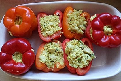 Paprika mit Geflügel - Curry - Füllung 25
