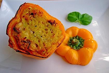 Paprika mit Geflügel - Curry - Füllung 8