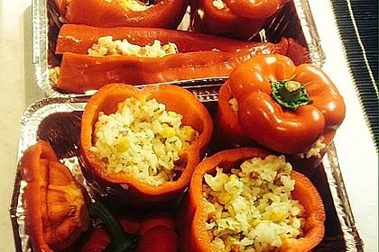 Paprika mit Geflügel - Curry - Füllung 17