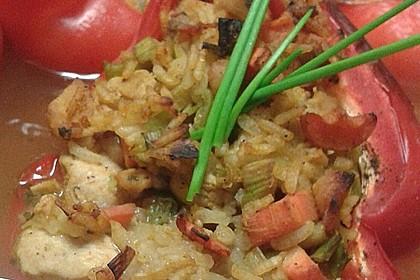 Paprika mit Geflügel - Curry - Füllung 28