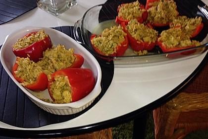 Paprika mit Geflügel - Curry - Füllung 20