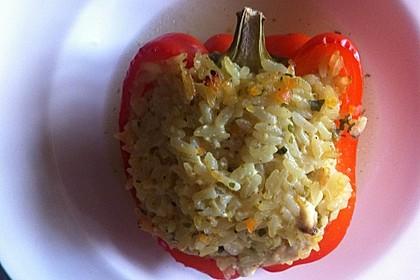 Paprika mit Geflügel - Curry - Füllung 18