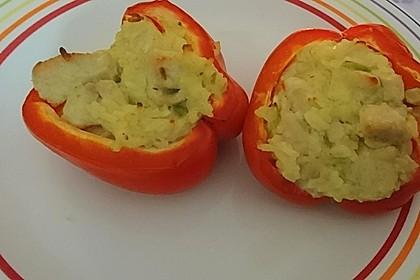 Paprika mit Geflügel - Curry - Füllung 12