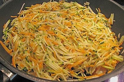 Rotbarschfilet auf Gemüsejulienne 3