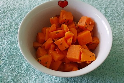 Süßkartoffel - Zitronen - Salat 2