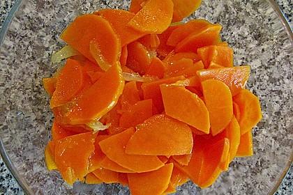 Süßkartoffel - Zitronen - Salat
