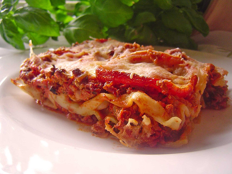 lasagne med creme fraiche