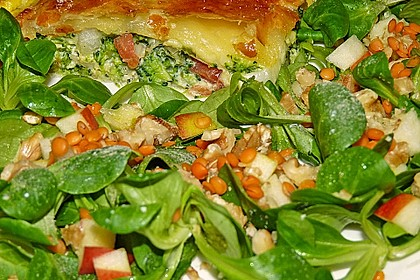 Belles Feldsalat mit roten Linsen 1