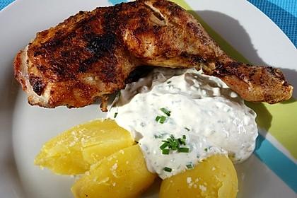 Kartoffeln mit Kräuterquark 1