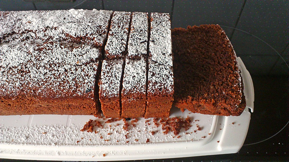 Sarahs Super Saftiger Schoko Nuss Kuchen Von Mareikaeferchen