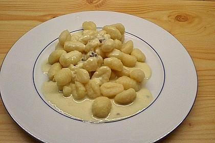 Gnocchi ai quattro formaggi 4
