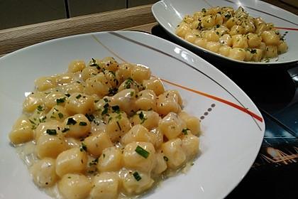 Gnocchi ai quattro formaggi 1