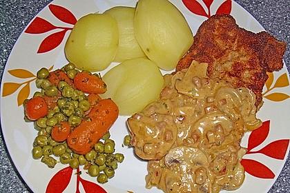 Frisches Erbsen - und Möhrengemüse 14