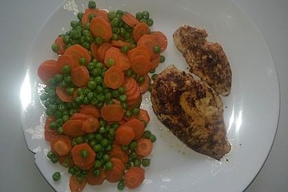 Frisches Erbsen - und Möhrengemüse 17