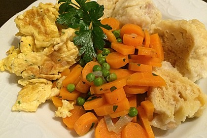 Frisches Erbsen - und Möhrengemüse 3
