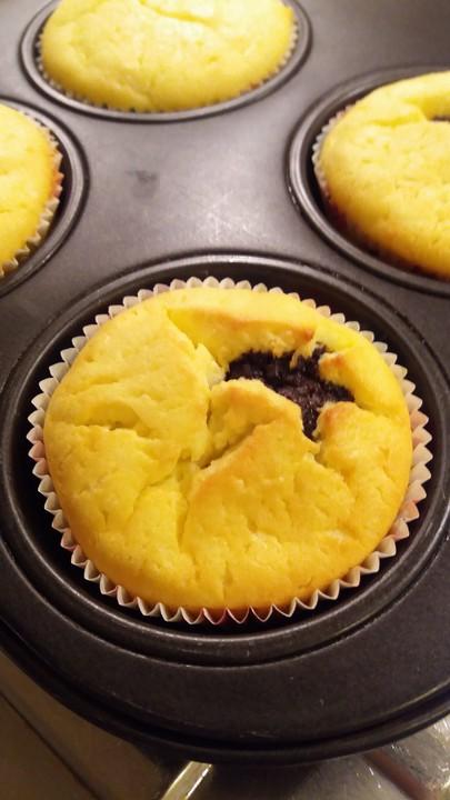 Mohn Kasekuchen Muffins Von Schlemmerer Chefkoch De