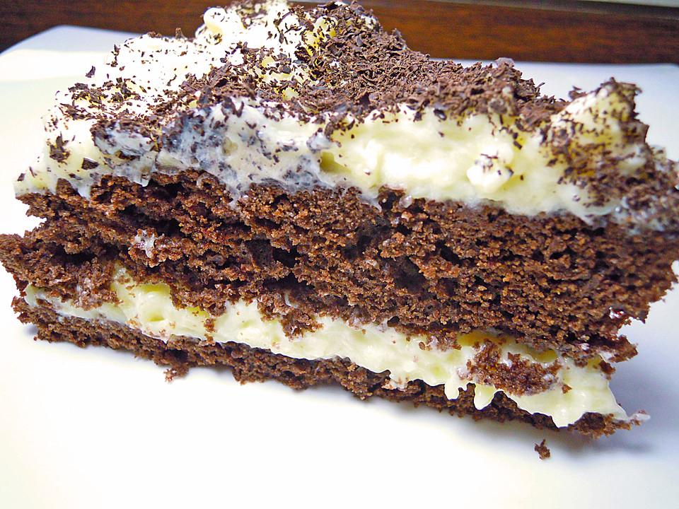 Schokoladen Vanille Torte Von Seelenschein Chefkoch De