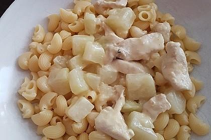Hähnchen - Kohlrabi - Zucchini Pfanne 8