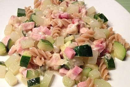 Hähnchen - Kohlrabi - Zucchini Pfanne 4