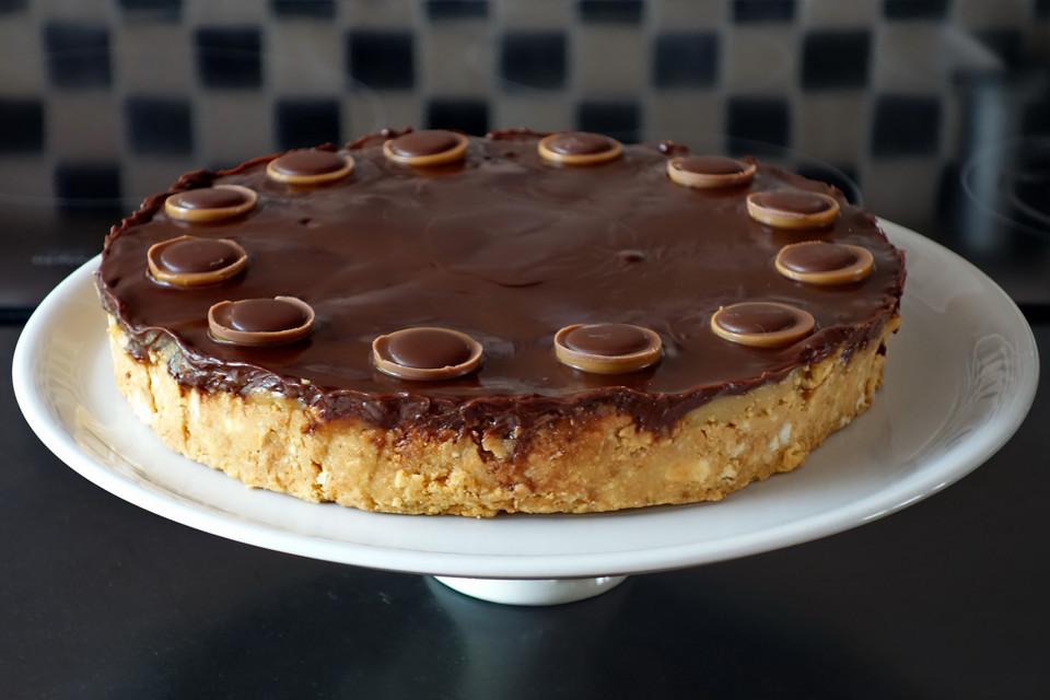 Snickers Kuchen Von Saniangel Chefkoch De