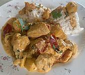 Hähnchen - Mango - Curry (Bild)