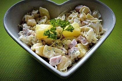 Ananas - Salat mit Kasseler