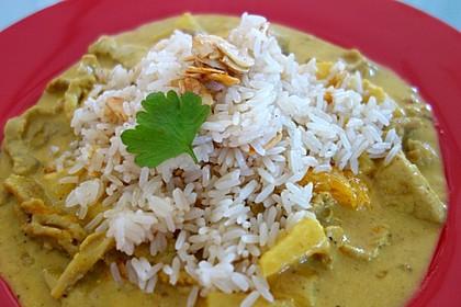 Curry - Geschnetzeltes mit Ananas 3