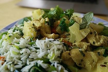 Curry - Geschnetzeltes mit Ananas 2