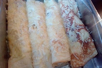 Omelett mit Spargel - Käse - Füllung 4