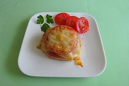 Pizza - Toasti (Bild)
