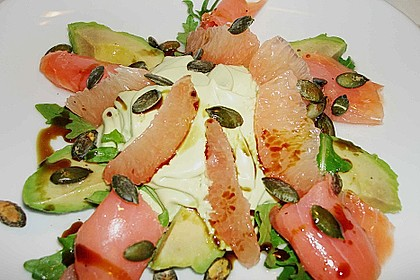 Avocado - Grapefruit - Salat mit Avocado - Espuma 3