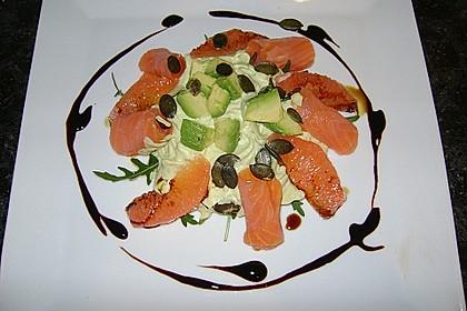 Avocado - Grapefruit - Salat mit Avocado - Espuma