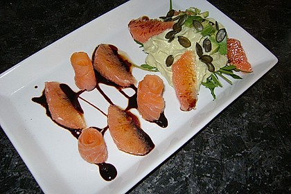 Avocado - Grapefruit - Salat mit Avocado - Espuma 2