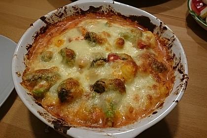 Gnocchinudeln-Tomaten-Brokkoliauflauf 1