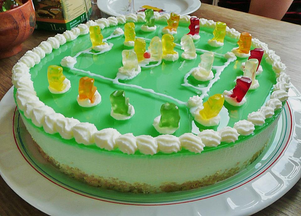 Gotterspeise Frischkase Torte Mit Kekskrumeln Chefkoch De