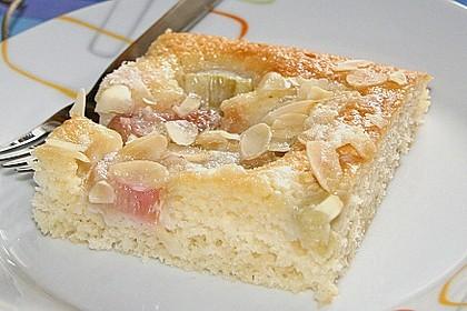 Rhabarber - Buttermilchkuchen 9