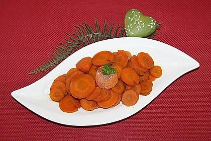 Karottengemüse, asiatisch gewürzt 1