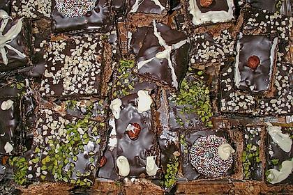 Schokoladiger Honigkuchen 1
