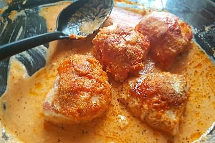 Hähnchenfilets mit würziger Tomatensoße 6