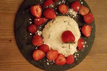 Basilikum - Quarkmousse mit Balsamico - Erdbeeren 9